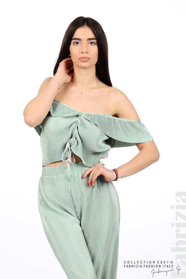 Комплект панталон и бюстие мента 1 fabrizia