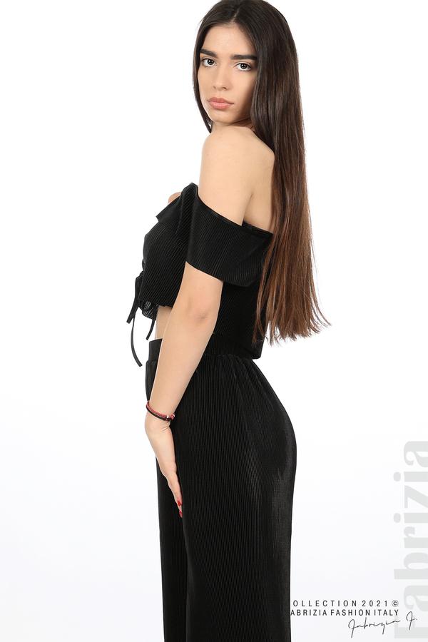 Комплект панталон и бюстие черен 4 fabrizia