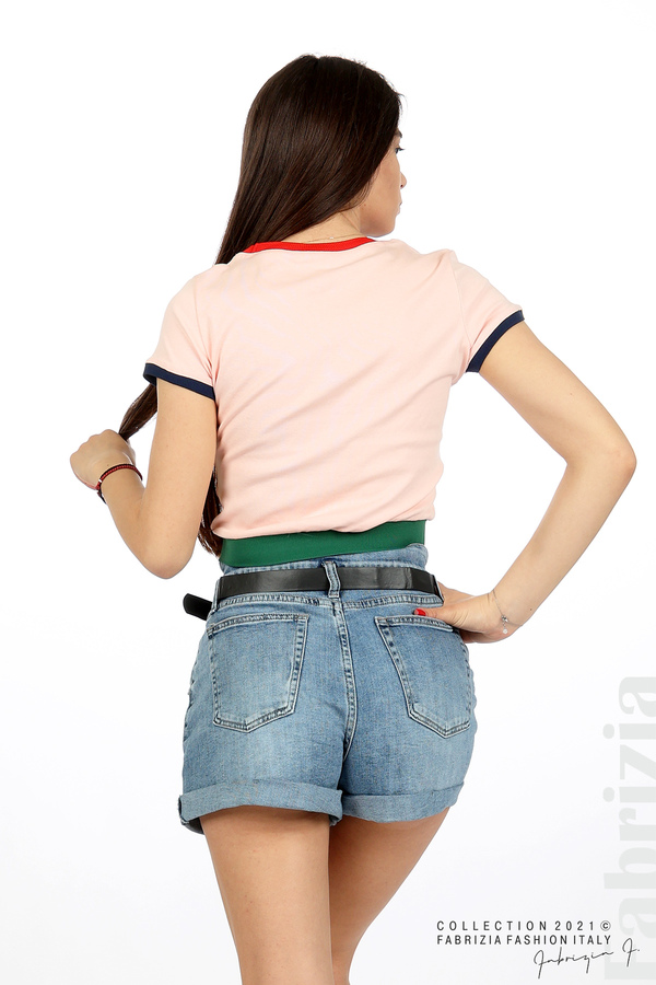 Дамска блуза You are beautiful розов 6 fabrizia