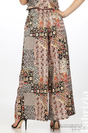 Многоцветен фигурален панталон