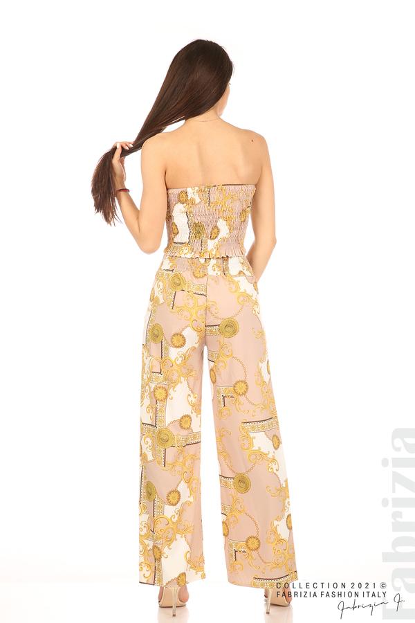 Дамски комплект бюстие и панталон бежов/екрю 6 fabrizia