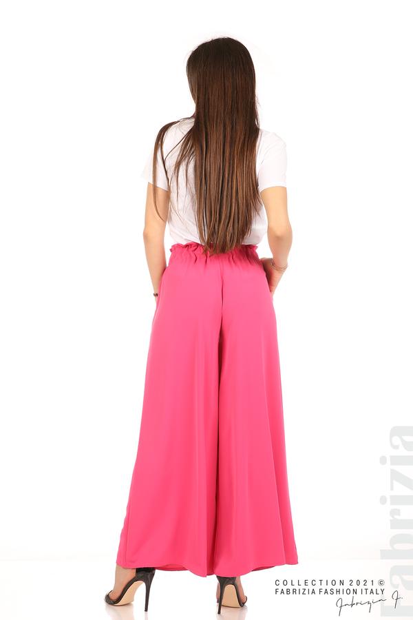 Дълъг едноцветен панталон циклама 7 fabrizia