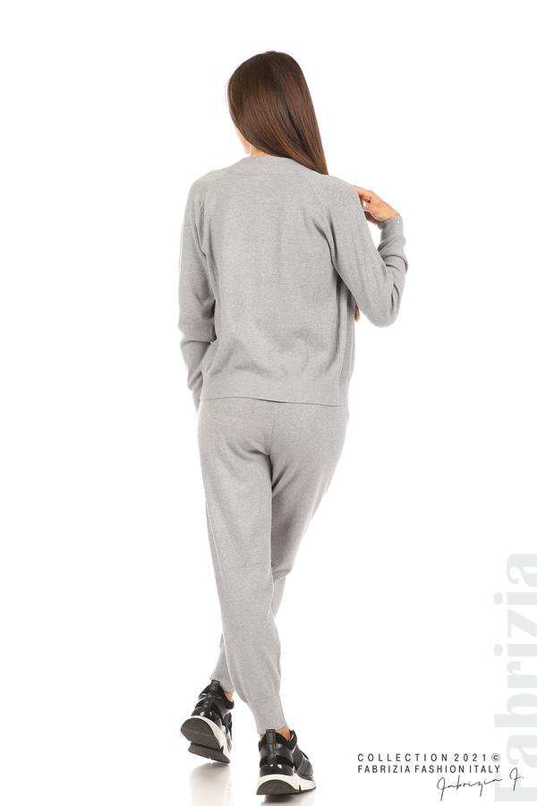 Комплект фино плетиво 3 части сив 8 fabrizia