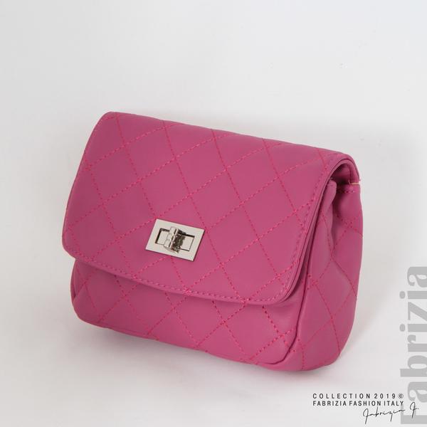 Дамска чанта за носене на кръста циклама 3 fabrizia