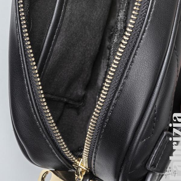 Дамска чанта за носене на кръста черен 4 fabrizia