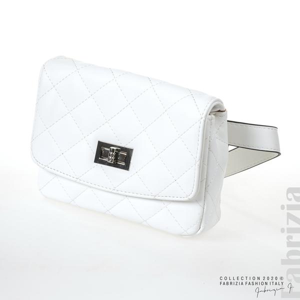 Дамска чанта за носене на кръста бял 1 fabrizia