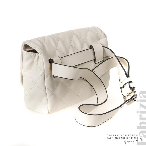 Дамска чанта за носене на кръста св.бежов 2 fabrizia
