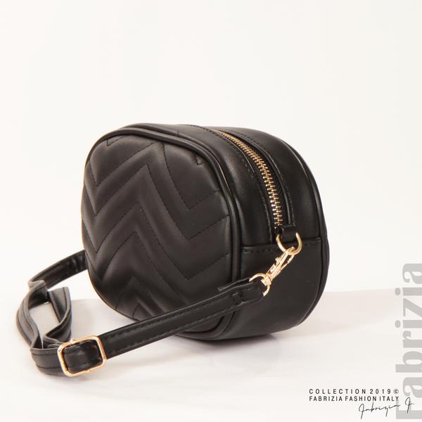 Малка дамска чанта 2 в 1 черен 3 fabrizia
