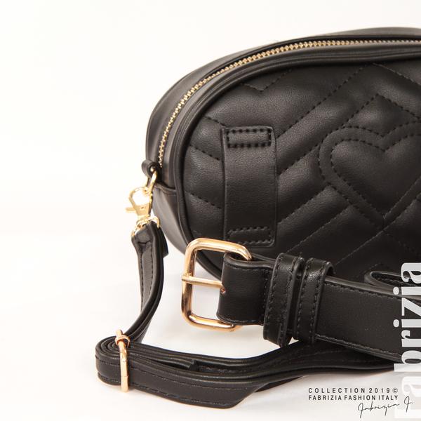 Малка дамска чанта 2 в 1 черен 9 fabrizia