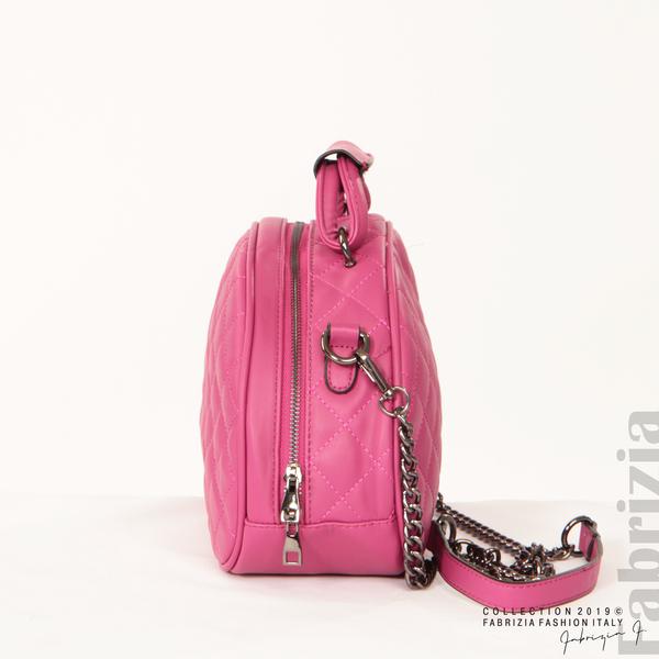 Компактна дамска чанта циклама 3 fabrizia