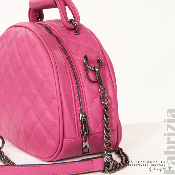 Компактна дамска чанта циклама 4 fabrizia