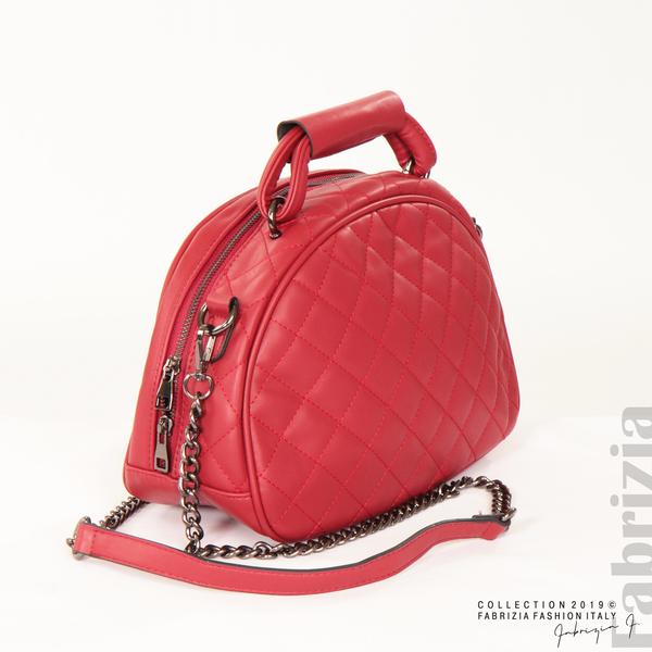 Компактна дамска червен 4 fabrizia