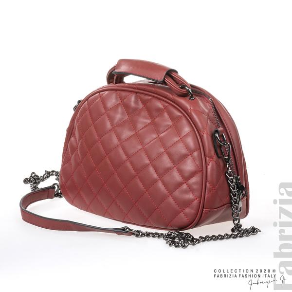 Компактна дамска чанта кафяв 1 fabrizia
