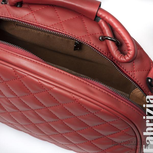 Компактна дамска чанта червен 4 fabrizia