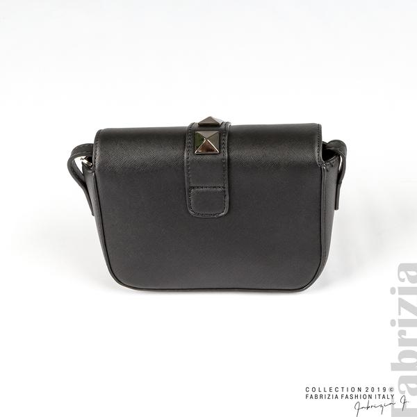 Малка чанта с магнитно закопчаване черен 3 fabrizia
