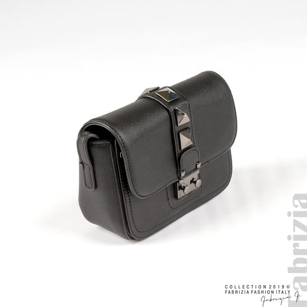 Малка чанта с магнитно закопчаване черен 1 fabrizia