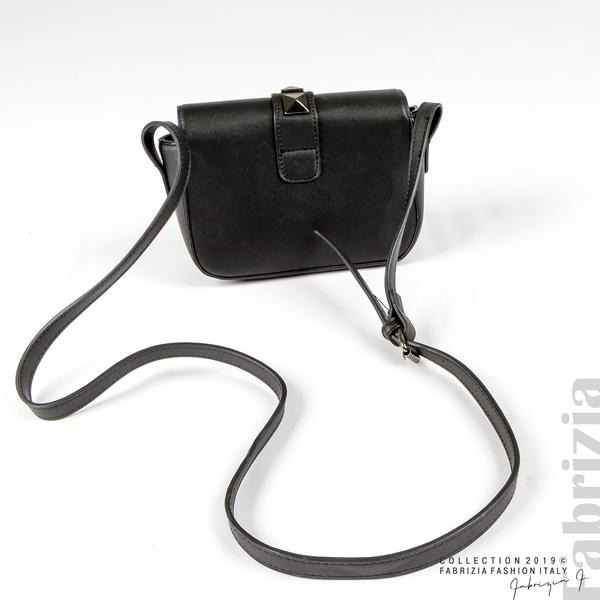 Малка чанта с магнитно закопчаване черен 2 fabrizia