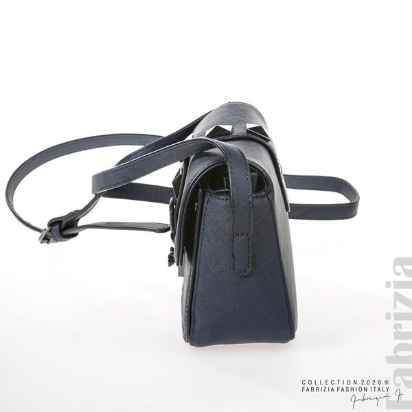 Малка чанта с магнитно закопчаване син 3 fabrizia