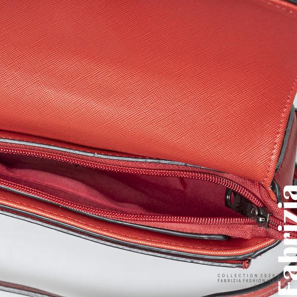 Малка чанта с магнитно закопчаване червен 4 fabrizia