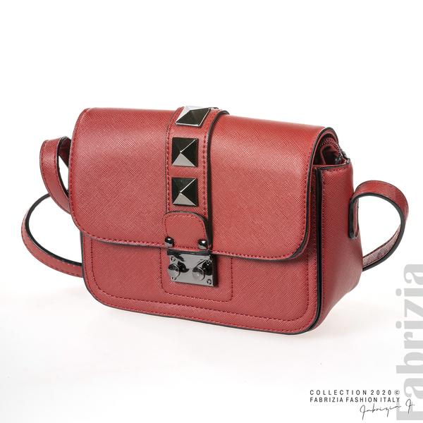 Малка чанта с магнитно закопчаване син 1 fabrizia