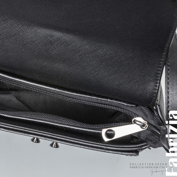 Малка чанта с магнитно закопчаване черен 4 fabrizia