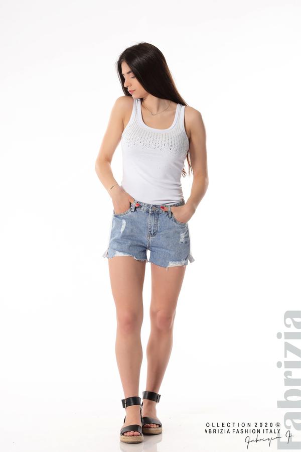 Къси комбинирани панталонки 4 fabrizia