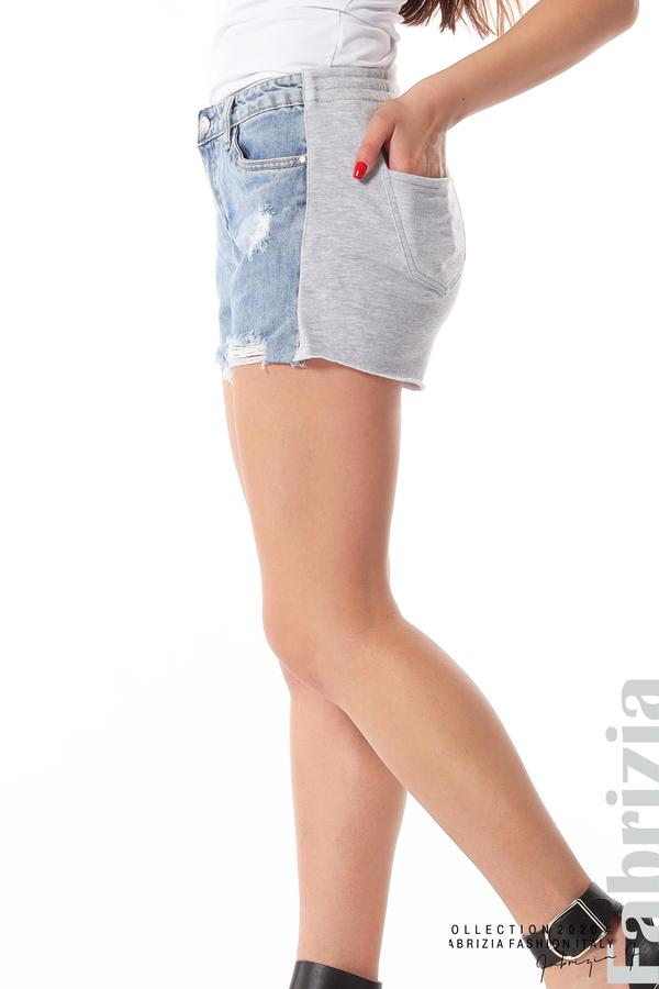 Къси комбинирани панталонки 5 fabrizia