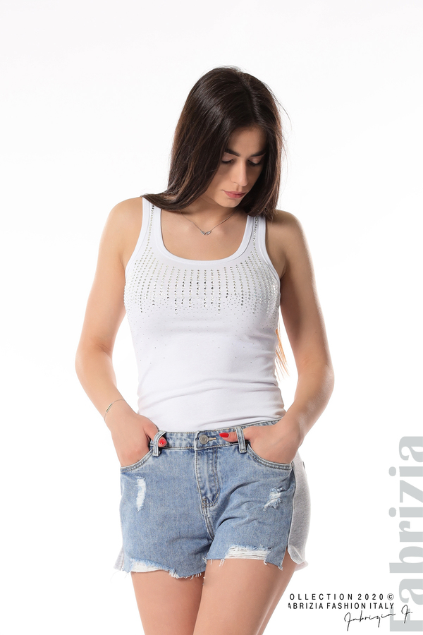 Къси комбинирани панталонки 1 fabrizia