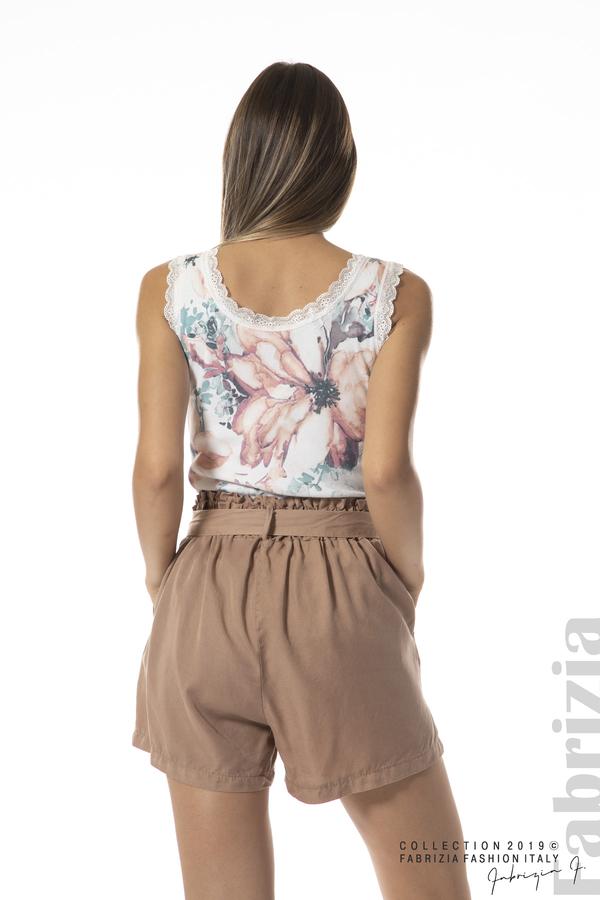 панталон с връзка-св.кафяв-4