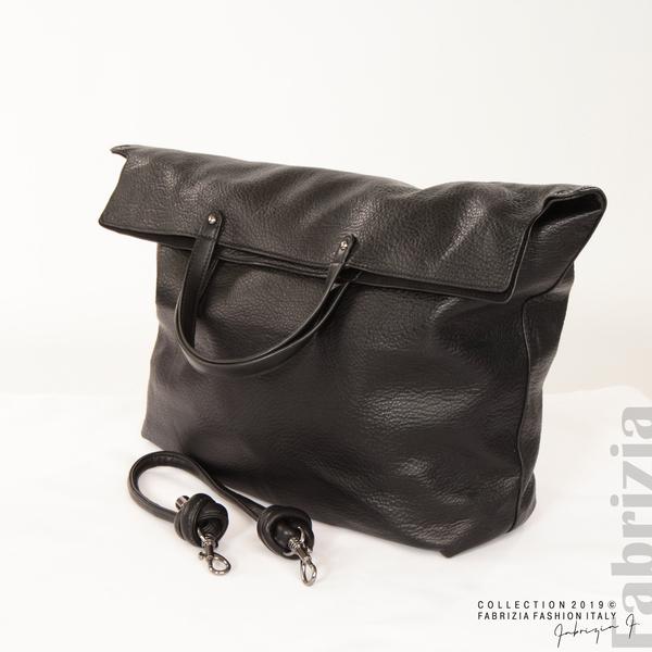 Голяма дамска чанта черен 5 fabrizia