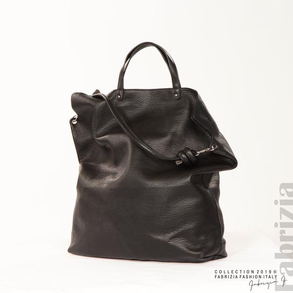 Голяма дамска чанта черен 3 fabrizia