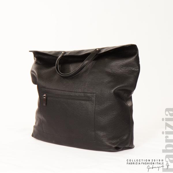 Голяма дамска чанта черен 7 fabrizia