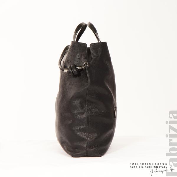 Голяма дамска чанта черен 4 fabrizia