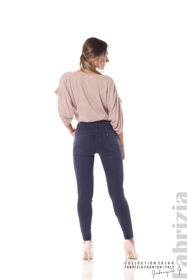 Изчистен дамски панталон т.син 4 fabrizia