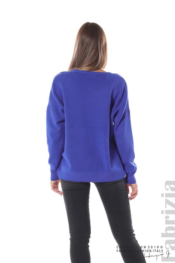 Блуза с надпис