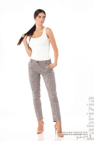 Дамски кариран панталон