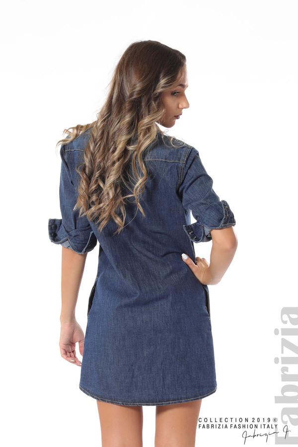 Дамска рокля от деним 4 fabrizia